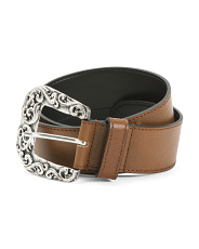 Made In Italy Leather Belt