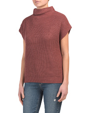 Funnel Neck Wedge Sweater