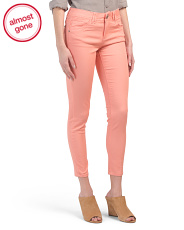 Ab Tech Ankle Colored Jeans