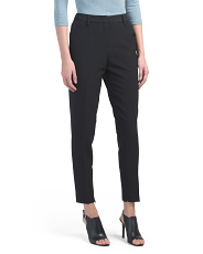 High Rise Slim Pants