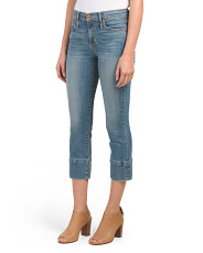 Made In Usa Boyfriend Crop Jeans