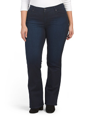 Plus Made In Usa Classic Bootcut Curvy Jeans