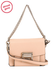 Made In Italy Mini Leather Crossbody