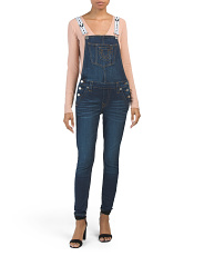 Skinny Ankle Overalls