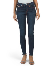 High Waist Super Skinny Big T Jeans
