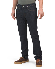 Byron Zip Fly Straight Leg Jeans