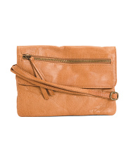 Leather Hazel Crossbody