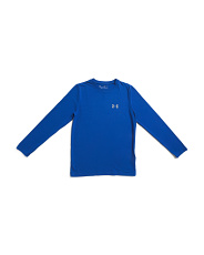 Boys Logo Long Sleeve Top