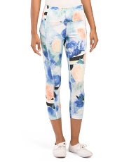 Printed Capris With Self Pocket