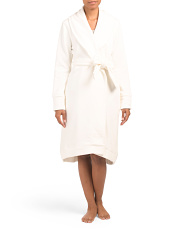 Duffield Double Knit Shawl Collar Robe