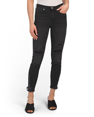 About A Girl High Waisted Skinny Jeans