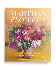 Martha Stewart Flowers Coffee Table Book