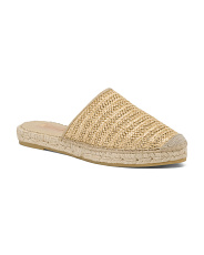 Made In Spain Flat Espadrille Sandals