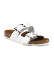 Made In Italy Double Strap Sandals