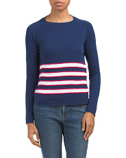 Made In Italy Cashmere Blend Sweater