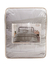 5pc Sanya Textured Comforter Set