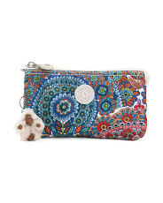 Nylon Printed Creativity Large Pouch