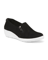 Twin Zip Sport Bottom Comfort Wedges