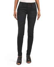 3 Button Tummy Control Skinny Jeans