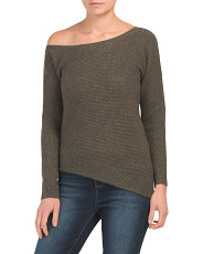 Cashmere Ribbed Pullover Sweater
