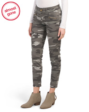 Ab Tech Ankle Camo Pants With Zippers