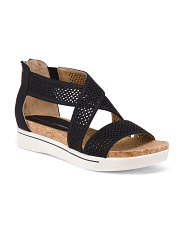 Perforated Sport Sandals