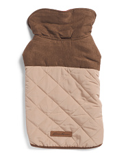 Quilted Barn Dog Jacket