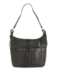 Leather Distressed Ryan Hobo