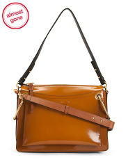 Made In Italy Roy Leather Shoulder Bag