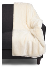 Thick Faux Fur Throw