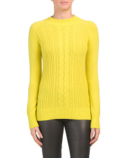 Merino Wool & Cashmere Blend Leon Sweater