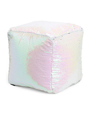 18x18 Kids Sequin Pouf