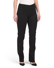 Marilyn High Waist Straight Leg Jeans