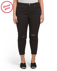Plus Wedgie Skinny Soft Jeans