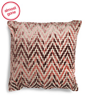 24x24 Velvet Sparkle Reversible Pillow
