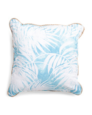 20x20 Indoor Outdoor Palms Pillow