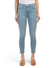 Made In Usa Alana High Rise Cropped Skinny Jeans