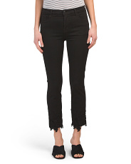Made In Usa Ruby High Rise Crop Cigarette Jeans