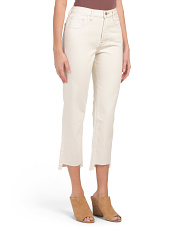 Wynne High Rise Cropped Straight Jeans