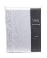 Made In Portugal Ruffle Gauze Duvet Set