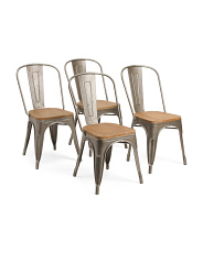 Set Of 4 Accent Chairs