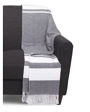 Made In Portugal Glen Stripe Throw