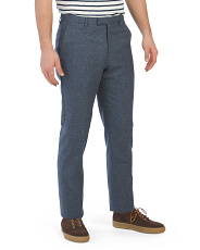 Host Slim Fit Mixer Trousers