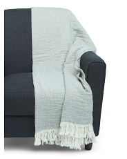 Made In Portugal Mallow Two Tone Throw