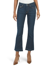 Made In Usa Gia Mid Rise Flare Jeans