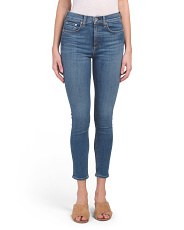 Made In Usa High Rise Skinny Jeans