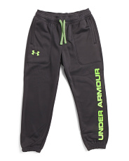 Boys Straight Leg Fleece Joggers