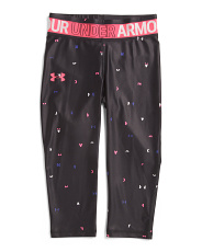 Girls Heatgear Capris