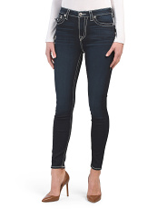 Halle High Rise Skinny Jeans