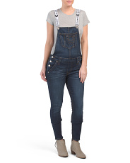 Ankle Skinny Overalls